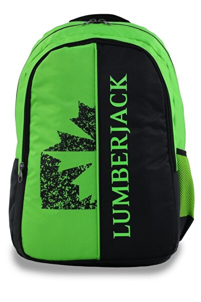 lumberjack 8501 Sırt Çantası Yeşil-siyah