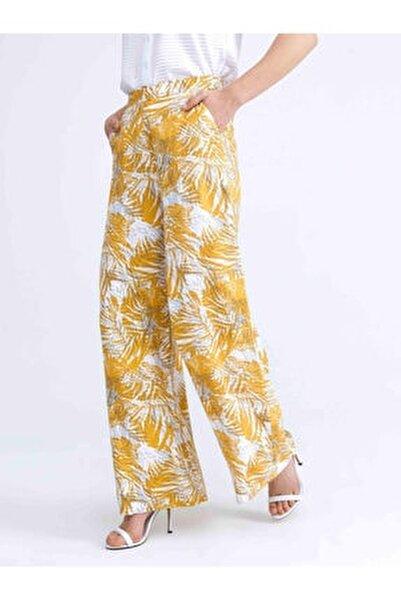 Xınt Rahat Kesim Desenli Pantolon