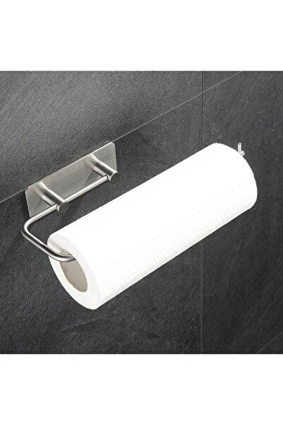 DELTAHOME Paslanmaz Çelik Kağıt Rulo Havluluk Askı - Yapışkanlı Sistem - Inox