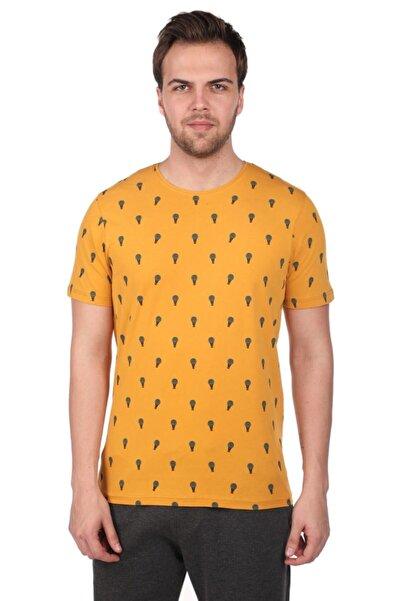 Phazz Brand Balon Desenli Erkek Bisiklet Yaka T-shirt