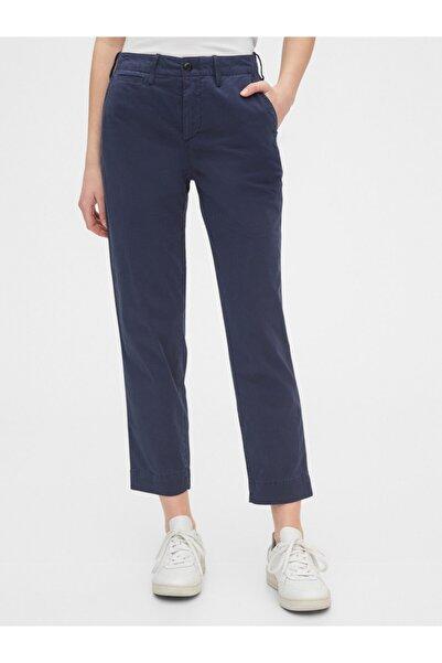 GAP High Rise Straight Fit Khaki Pantolon