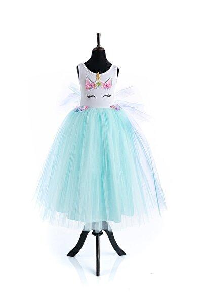 Tameris Kostüm Unicorn Elbise Rita Mint Flw