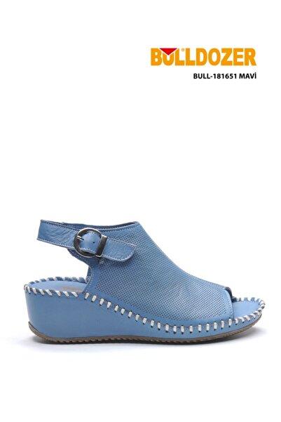 Bulldozer 181651 Mavı Kadın Sandalet