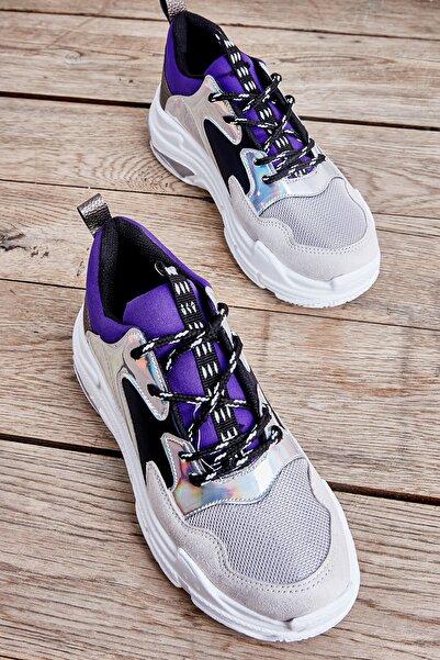 Bambi Lame Janjan/laci Kadın Sneaker L0601013909