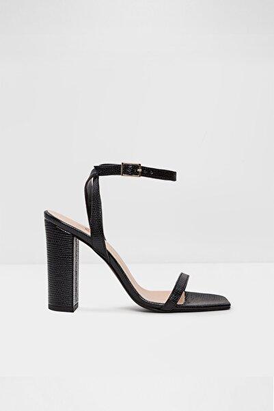 Aldo Yelowa-tr - Siyah Kadın Topuklu Sandalet