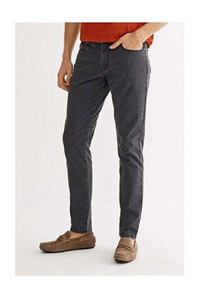 Avva Erkek Antrasit 5 Cepli Armürlü Slim Fit Pantolon A01s3087
