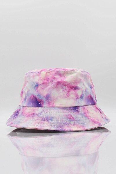 Külah Space Bucket Şapka Balıkçı Şapkası Lila