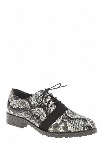 Derigo Beyaz Yılan Kadın Casuel Ayakkabı 221914