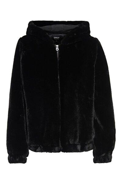 Only Onlmalou Faux Fur Hood Jacket Cc Otw