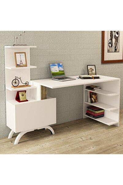 Kalender Dekor Olivia Çalışma Masası Beyaz