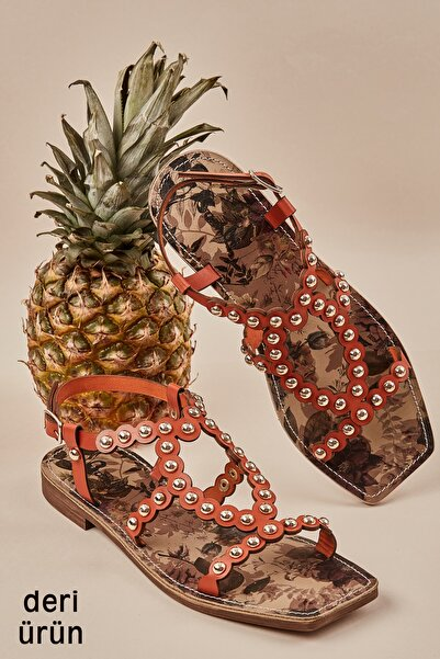 Bambi Turuncu Kadın Sandalet L0689000803