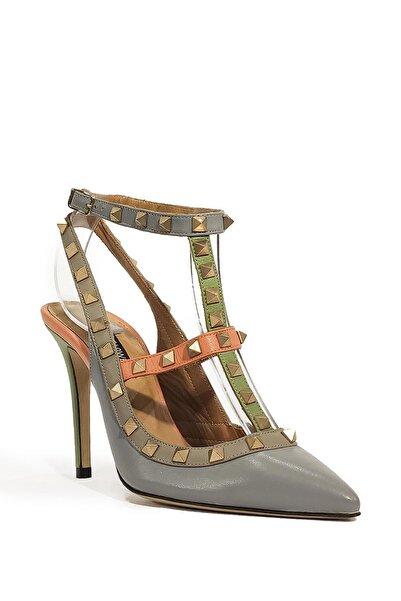 Flower Hakiki Deri Klasik Topuklu Ayakkabı Flw15y-a6259