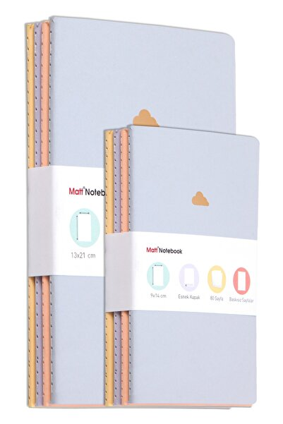 Matt Notebook 8'li Defter Set