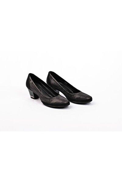 Venüs 1346y Deri Topuklu Bayan Ayakkabı
