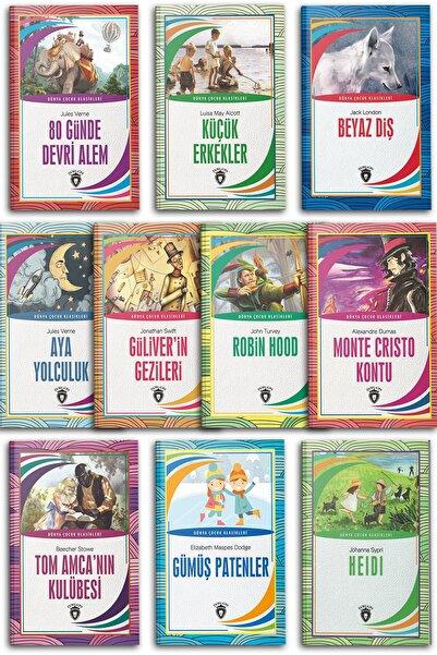 Dorlion Yayınları 7-12 Yaş Dünya Çocuk Klasikleri 10 Kitap