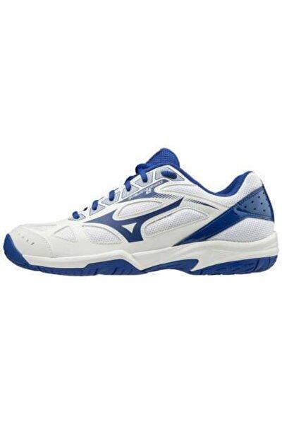 MIZUNO Cyclone Speed 2 Unisex Voleybol Ayakkabısı Beyaz / Mavi