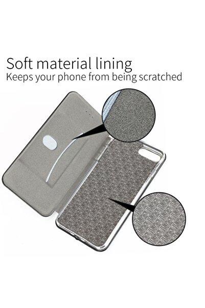 Microsonic Apple Iphone Xs Max (6.5) Kılıf Ultra Slim Leather Design Flip Cover