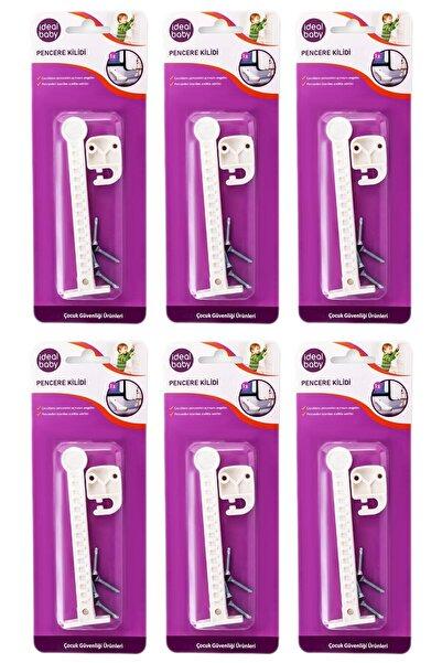 İdeal Baby 6 Paket Pencere Kilidi