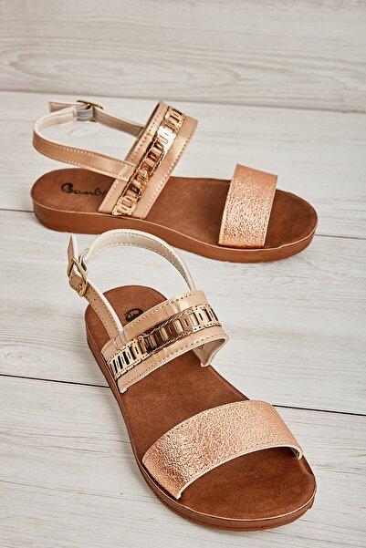Bambi Rose Kadın Sandalet L0642830110