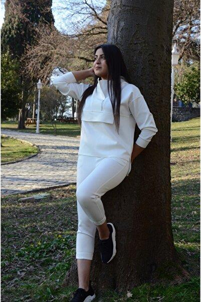 Arsiyan Fashion Scuba Eşofman Takım Zara Model Eşofman Takım