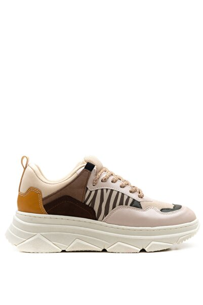 Bulldozer 201957 Bej Kadın Sneakers Ayakkabı