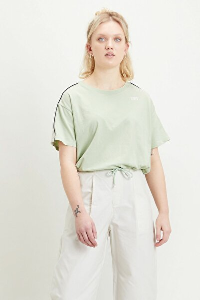Levi's Ginger Nyln Piece Tee Ginger Nylon Yeşil Kadın Tişört