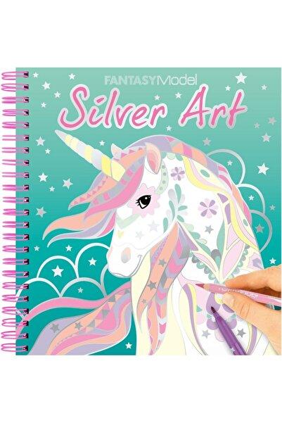 Top Model Fantasy Silver Art Tasarım Defteri