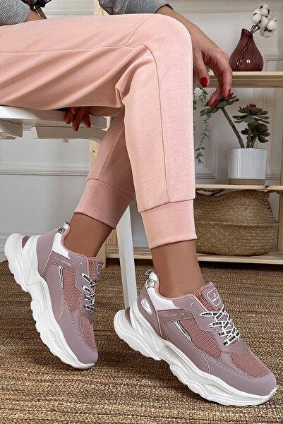 DARK SEER Kadın Pembe Sneaker