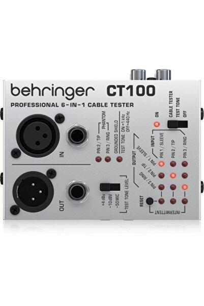Behringer Ct100 Mikroişlemci Kontrollü 6-in-1 Kablo Test Cihazı