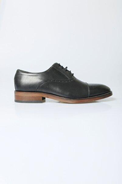 Centone Erkek Siyah Klasik Deri Ayakkabı 17-5178