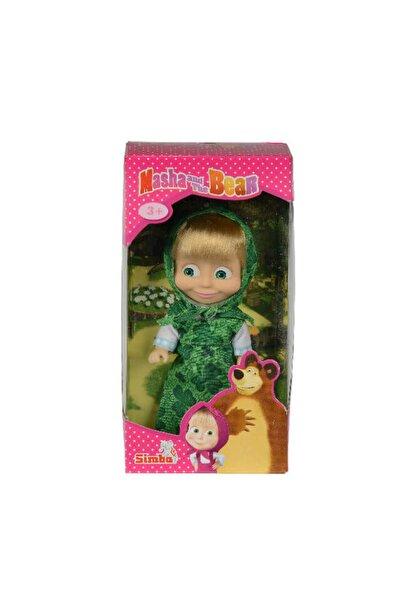 Simba Maşa Ve Koca Ayı Maşanın Günlük Elbiseleri Yeşil Figür Çocuk Oyuncak Bebek Masha And Bear