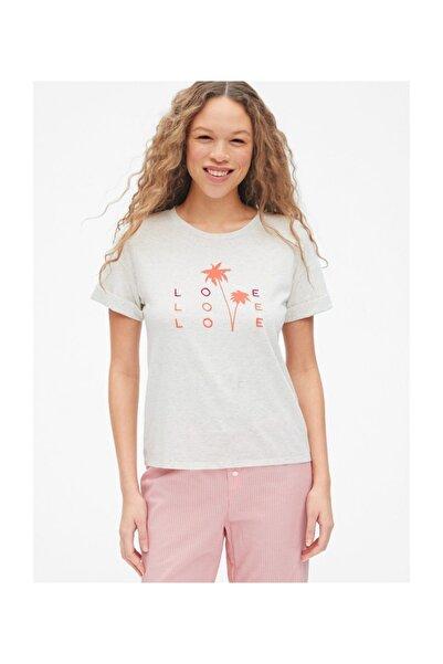GAP Forever Favorite Kısa Kollu Grafik T-shirt