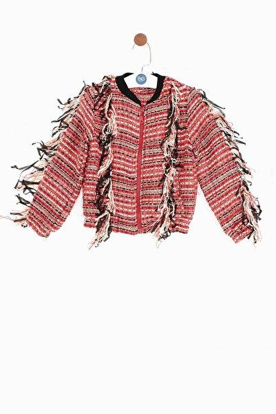 Tyess Kız Çocuk Desenli Ceket