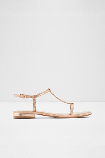 Aldo Yboımma - Pembe Altın Kadın Sandalet