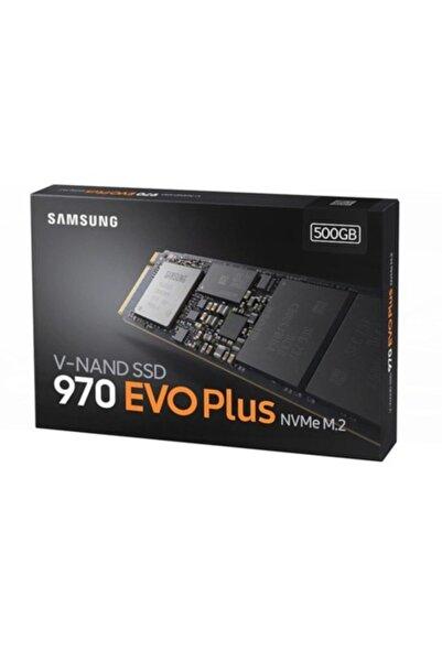 Samsung Mz-v7s500bw / 500 Gb 970 Evo Plus Pcıe M.2 Ssd Nvme 2280 3300/3500mb/s Mz-v7s500bw