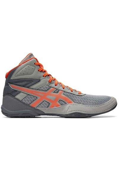 Asics Matflex 6 - 1081a021 Güreş Ayakkabısı - Gri-mercan