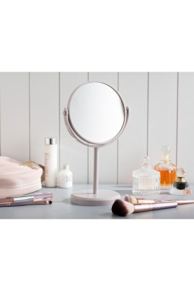 Madame Coco Nera Çift Taraflı Masa Aynası - Açık Mürdüm