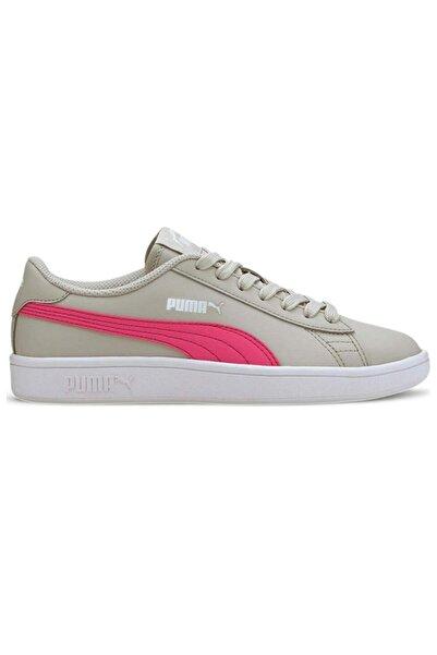 Puma Smash V2 L Jr Kadın Gri Günlük Ayakkabı 36517023