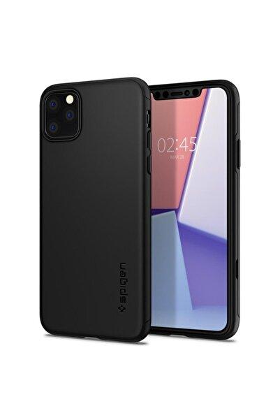 Spigen Iphone 11 Pro Kılıf, Thin Fit Classic Black