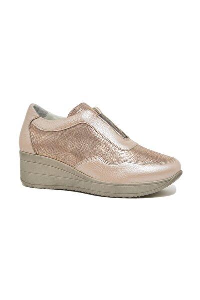 Desa Eriressi Kadın Yüksek Taban Deri Spor Ayakkabı
