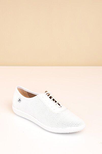 Pierre Cardin Pc-50104 Beyaz Kadın Ayakkabı