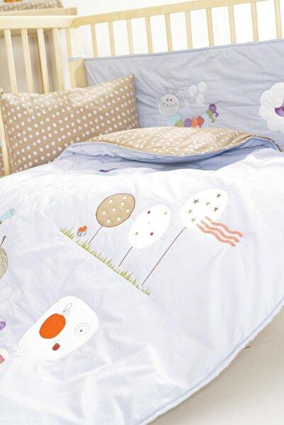 İşbir Yatak Tırtıl Bebek Nevresim Seti