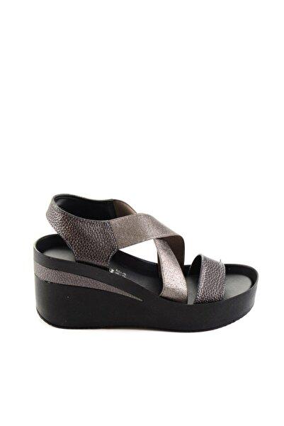 Bambi Platin/platin Kadın Sandalet
