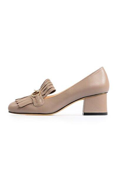 Flower Vizon Tokalı Kadın Ayakkabı