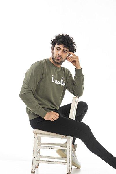 O'neebs Erkek Yeşil Sweatshirt