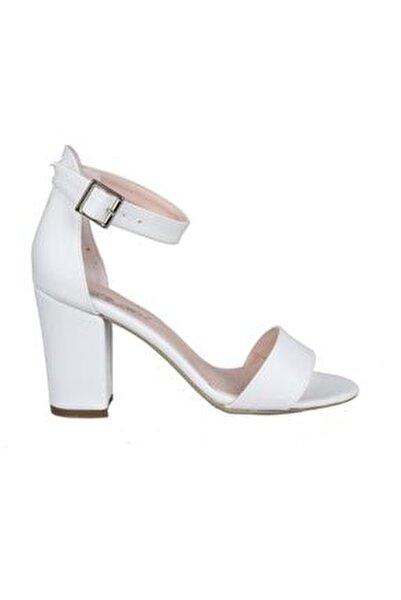 460062 Beyaz Kadın Stiletto