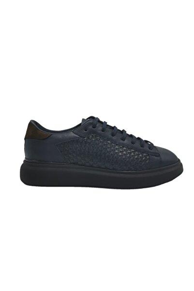 ALBERTO GUARDIANI Hakiki Deri Sneaker Erkek Ayakkabı