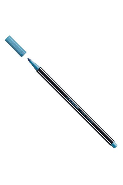 Stabilo Pen 68 Metallic Blue Davetiye Kalemi