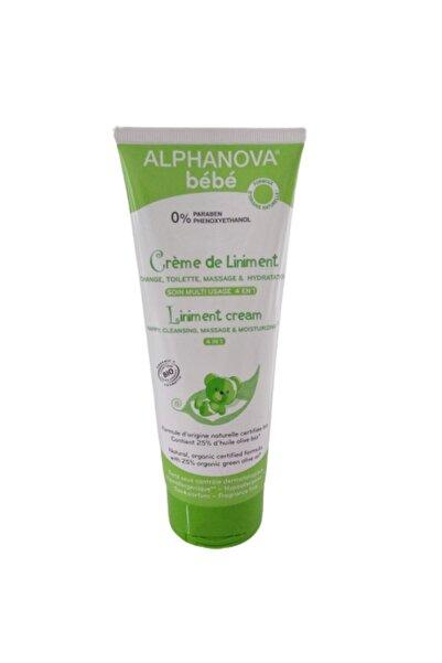 Alphanova Organik Bebe Cream De Liniment -nappy, Cleansing, Massage, Moisturizing -4 In 1- 200ml Yeni Ürün