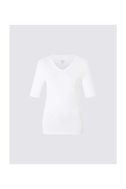 Marks & Spencer Yarım Kollu V Yaka T-shirt